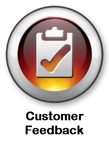 Customer Feedback Button